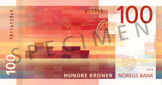ANNOUNCEMENT REGARDING ACCEPTABLE NORWEGIAN BANKNOTES FOR THE EMBASSY'S CONSULAR SERVICES