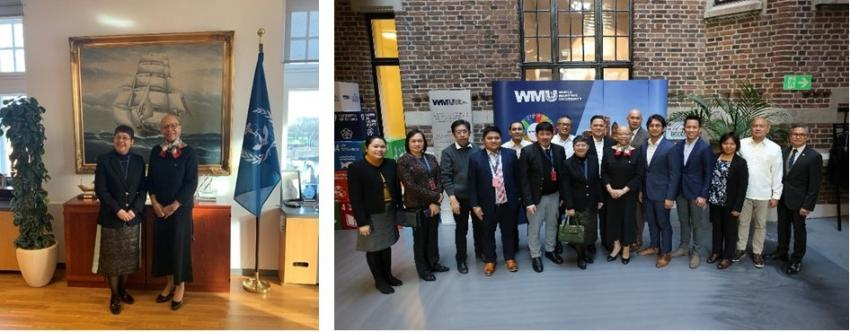 Ambassador Jocelyn Batoon-Garcia Calls on  President of the World Maritime University in Malmö, Sweden