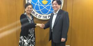 Professional Regulation Commission Welcomes Ambassador Jocelyn Batoon-Garcia