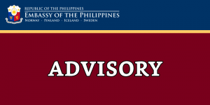 PUBLIC ADVISORY: ON THE PHILIPPINE GOVERNMENT'S MEASURES TO MANAGE THE SITUATION ON THE 2019 NOVEL CORONAVIRUS