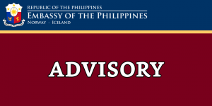 COVID-19 PUBLIC ADVISORY NO. 16: SUSPENSION OF ALL CONSULAR SERVICES AT THE EMBASSY UNTIL 13 APRIL 2020