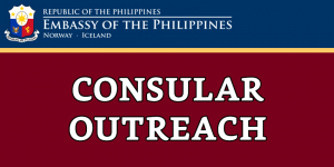 TENTATIVE SCHEDULE FOR CONSULAR OUTREACH MISSIONS FROM JANUARY TO JUNE 2020