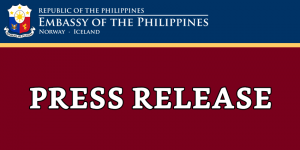 PHILIPPINES, DENMARK HOLD INAUGURAL BILATERAL CONSULTATIONS